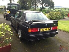 BMW E30 M3 Required
