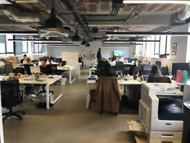 6-22 Desks available in friendly, open plan, brand new offices in the heart of Shoreditch