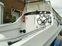16 ft boat fully painted and anti fowled
