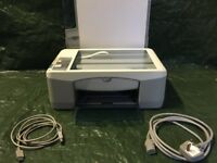 Hewlett Packard PSC 1210 all in one Printer. No cartridges or paper included.