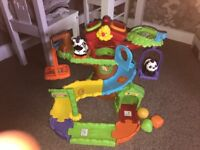 Toot toot vtech treehouse.