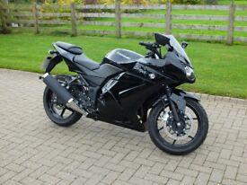 Kawasaki Ninja EX 250 - As brand new, perfect condition, just over 200 miles, beautiful bike