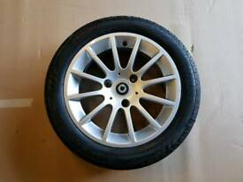 X1 Smart Car Fortwo Rear Alloy Wheel (Spare)