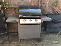 John Lewis Gas BBQ Barbecue 3 Burner cost £300