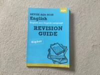 GCSE English revision guide.