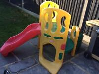 Little tykes hide and slide climber