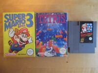 Classic Nintendo NES games - Super Mario Bros 3 / Super Mario Bros / Tetris