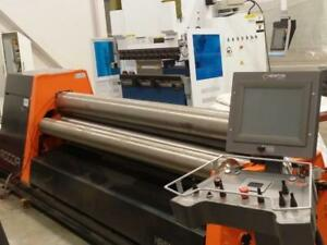 """Italian CNC Plate Roller 10' x 1/4"""" Canada Preview"""