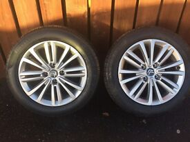 BERLINGO PARTNER 206-207-306-307-308-3008-406-407 SELECTION OF ALLOYS TO SUIT FOUR STUD £140-£280