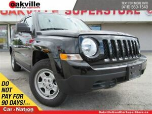 2017 Jeep Patriot Sport/North   AWD   CRUISE CONTROL  A/C  LIKE