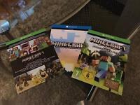 Minecraft xbox one.