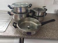 10 PIECES PAN SET£50