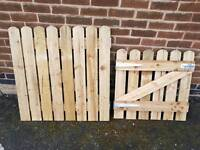 Wooden Gates, Fencing or planters