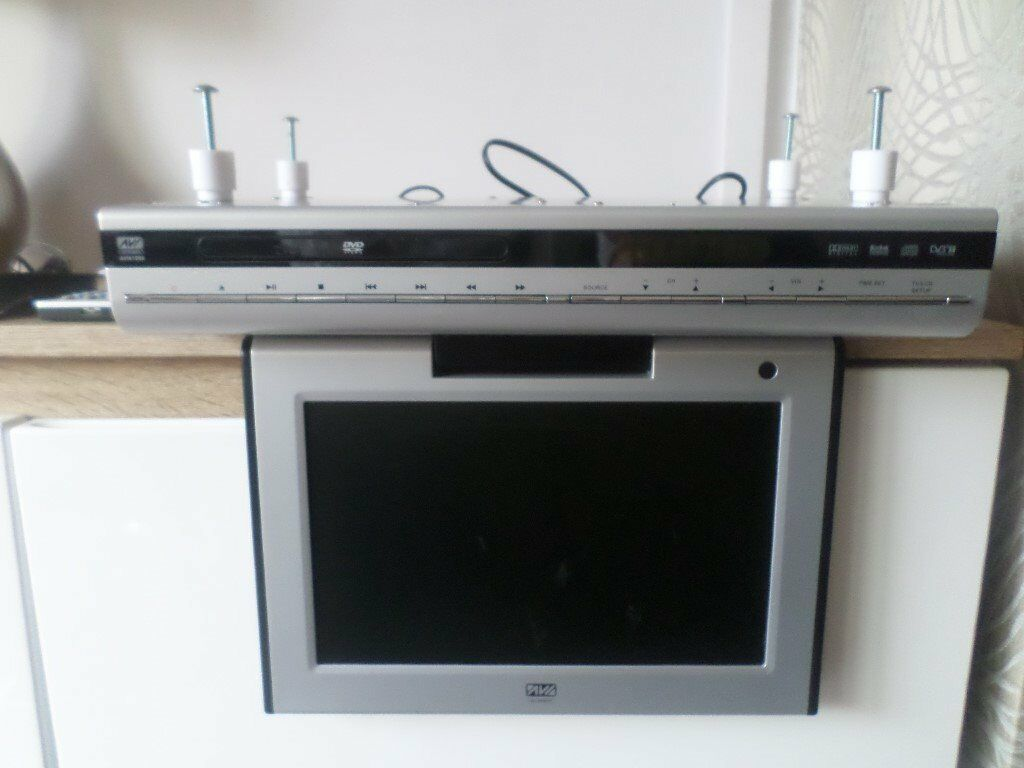 Kitchen tv under cabinet - Never Used Avi Av161006 Kitchen 10 Lcd Tv Dvd Under