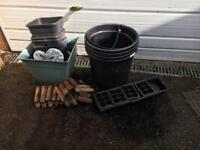FREE plant pots & garden ornaments