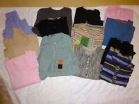 Mixed Bundle of Jumpers, Cardigans and Polo Necks - Size 14