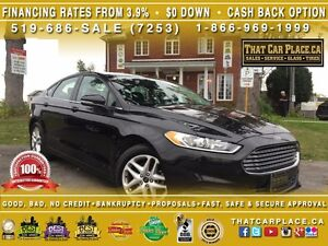 2014 Ford Fusion SE-$54/Wk-Bluetooth-Clean Carproof-USB/AUX/CD/M