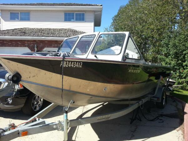 Used 2008 Hewescraft Power jet boat