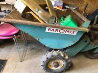 Motor barrow