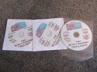 ROXY MUSIC store DVD Roland BK-7m + V-Accordion getting started disks ( course of 3 DVD disks)