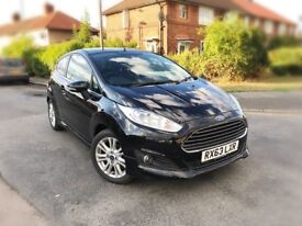 2013 FORD FIESTA 1.0 ECOBOOST ZETEC 3DR,29000 MILES,S HISTORY,1 OWNER,NEW MOT & SERVICE DONE.