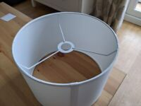"""Lampshade - White - 10"""" [Never Used]"""