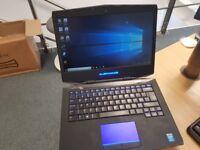 Alienware 14 Gaming laptop - intel core i7-4800MQ, Nvidia Geforce GTX 765M 2GB, 1TB HDD, Win 10
