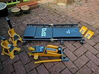 Torq Hydraulic Jack and accessories