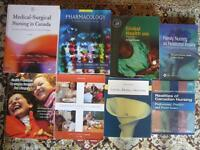 8 Used Nursing books in Excellent Condition