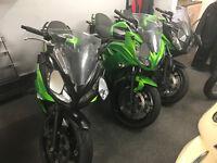 2012 Kawasaki ER6-F Full Green