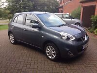 NISSAN MICRA 1.2 Acenta 5dr Limited Addition - Low Mileage - FSH - High Spec! - Bargain Price!
