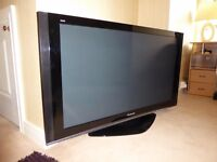 "Panasonic HD, 50"" Viera TV"
