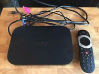 Sky Q mini box as new condition with touch remote lead and highspeed hdmi cable