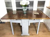 Vintage Drop Leaf Table Free Delivery Ldn Shabby chic