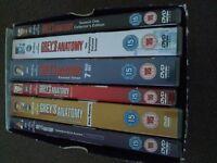Greys Anatomy Seasons 1-6 DVD - £12