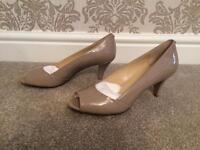 Calvin Klein nude heels/ shoes