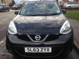 Used Nissan Micra late 2013 reg in excellent condition