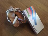 Office sandals,new in box cost £35