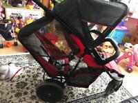 Hauck tandem double buggy from 6 months plus