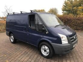 2007 Ford Transit 2.2 TDCi Duratorq 330 S SWV VAN, 60K MILES, 110BHP, NO VAT (Vauxhall Vivaro)