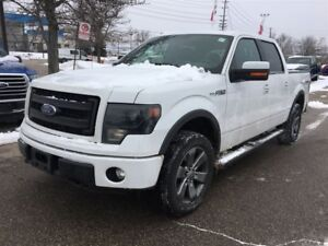 2014 Ford F-150 FX4,LEATHER,NAVIGATION,SUNROOF