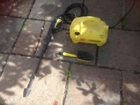 Kaercher 211 pressure cleaner with tools