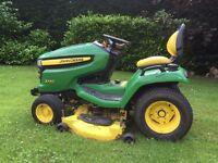 John Deere Sit On Lawn Mower
