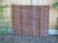 4 x 1800mm Willow Fence Panels for sale - £60 for 4