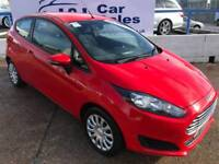 FORD FIESTA 1.2 STYLE 3d 81 BHP A GREAT EXAMPLE INSIDE AND OUT (red) 2013