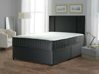 70% sale price! NEW DOUBLE SINGLE AND KING SIZE DIVAN BED BASE Base With WIDE RANGE OF MATTRESSES