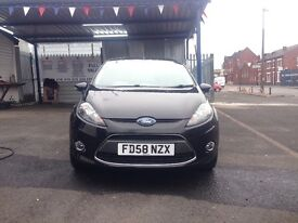 Ford Fiesta 1.4 petrol automatic 12 months MOT very low mileage only 48,000 on the clock