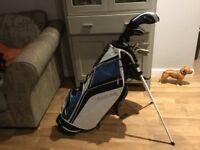Fazer half set ladies golf clubs and bag used once