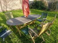 Garden set furniture