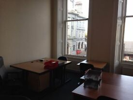 City Centre Serviced Offices available. 1 Desk, 2 Desk , 4/5 Desk, 8/10 Desk. From 01.03.18